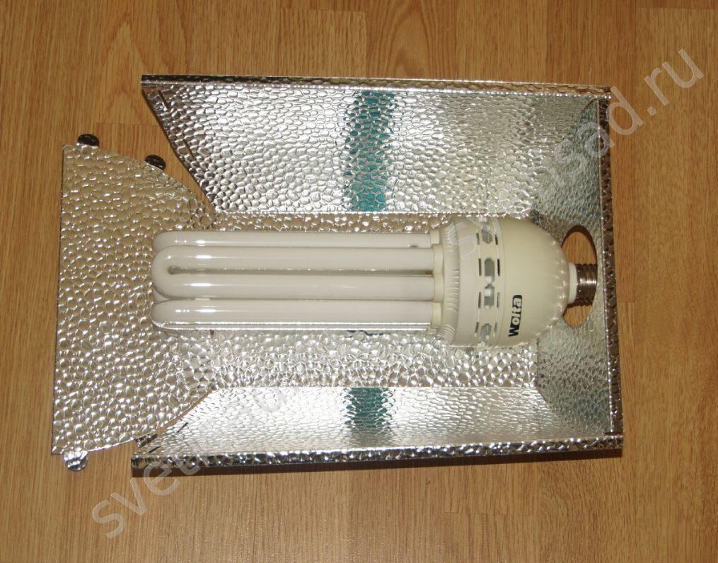 Рефлектор для лампы своими руками 32